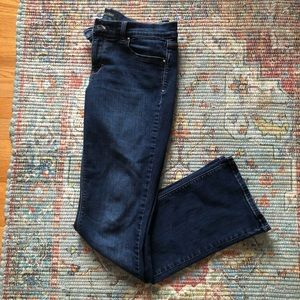 White House Black Market Noir Sleek Bootcut Jeans